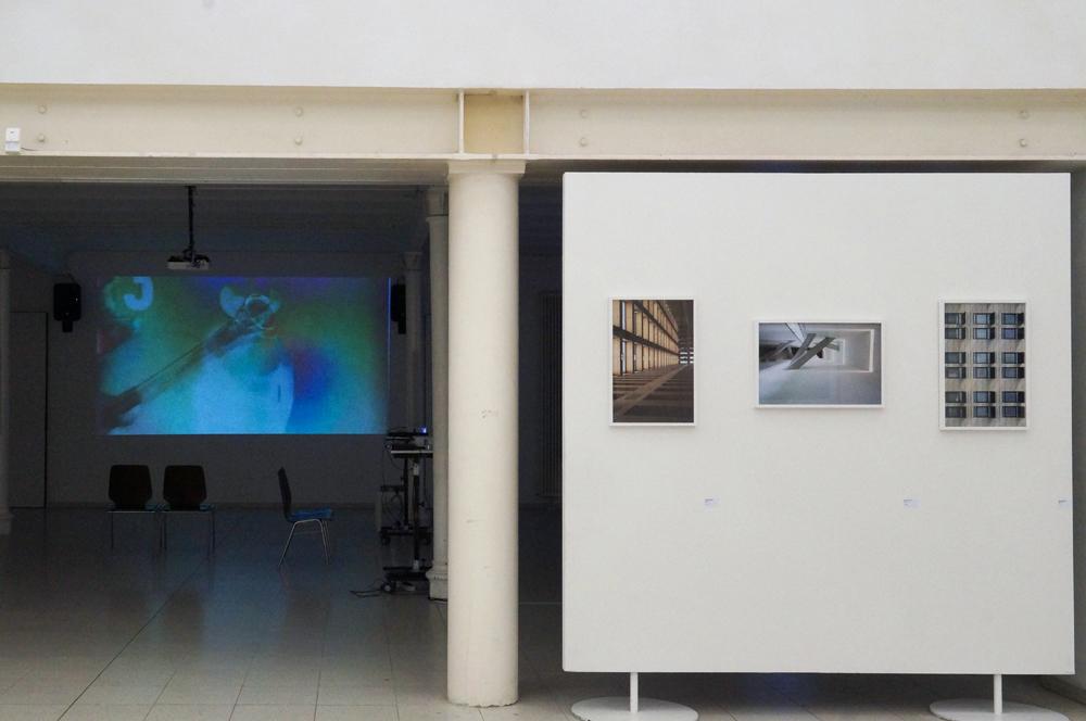 Ausstellungseröffnung des europäischen Kunstprojekts PHYSIS Vision und Illusion in der Europäischen Kunstakademie Trier 2017; copyright Amelie Conrad Archiv VgK e.V.