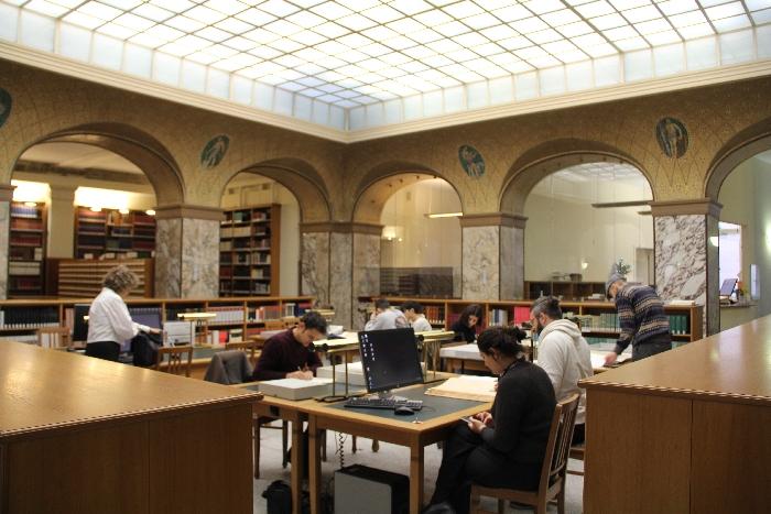 PHYSIS Fachkräftetreffen 2019; Arbeitsgruppe im Deutschen Historischen Museum Bibliothek (Archiv VgK e.V.)