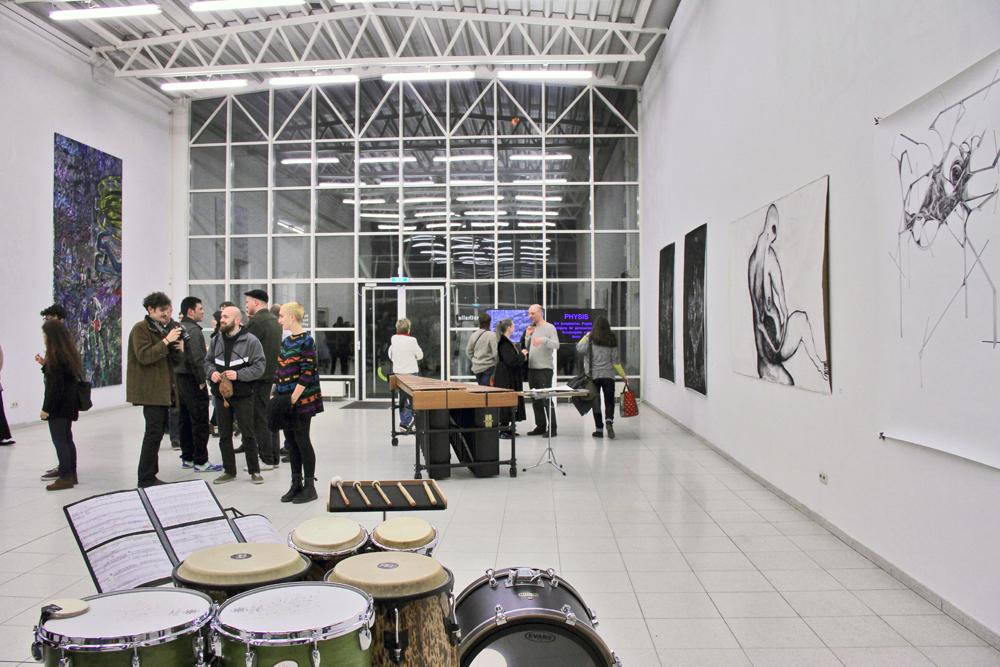 Ausstellungseröffnung des europäischen Kunstprojekts PHYSIS Vision und Illusion in der Europäischen Kunstakademie Trier 2017; copyright VgK e.V.
