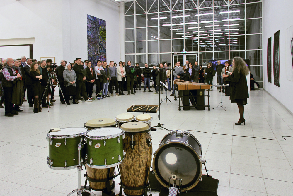 Ausstellungseröffnung PHYSIS, Eröffnungsrede Andrea Conrad, Kuratorin des europäischen Kunstprojekts PHYSIS