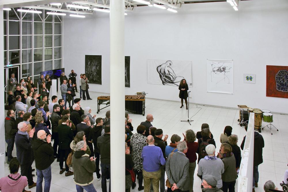 Ausstellungseröffnung PHYSIS in der Europäischen Kunstakademie Trier; Eröffnungsrede Andrea Conrad, Kuratorin des europäischen Kunstprojekts PHYSIS