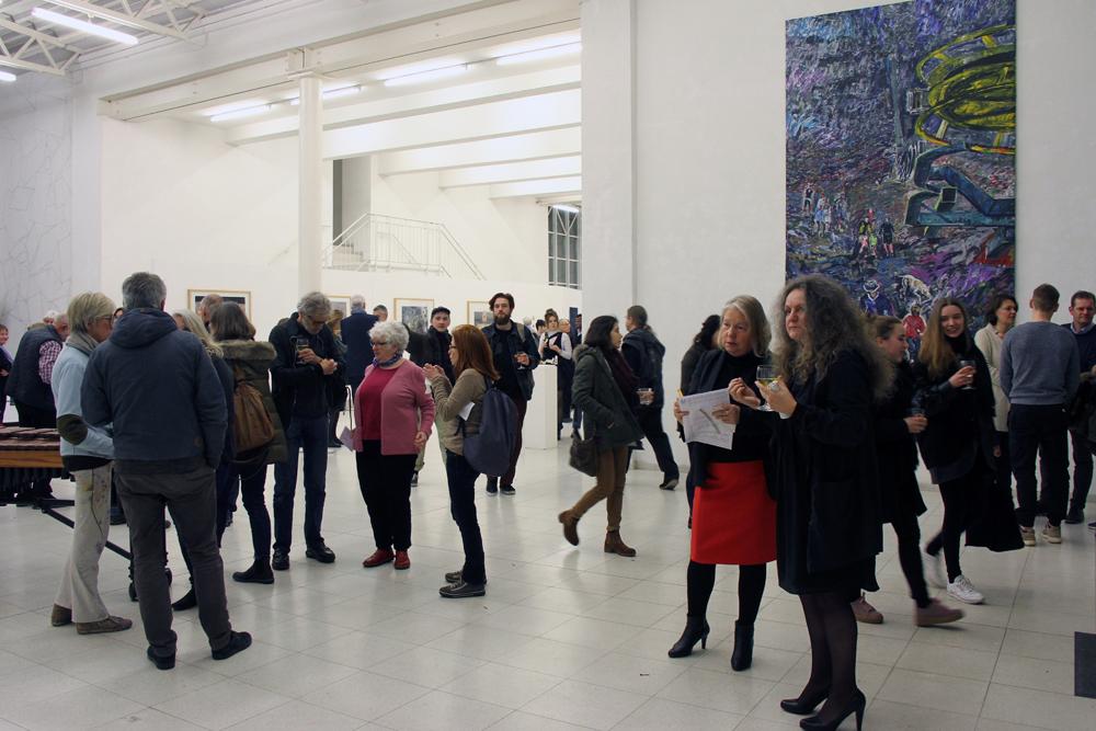 Ausstellungseröffnung PHYSIS