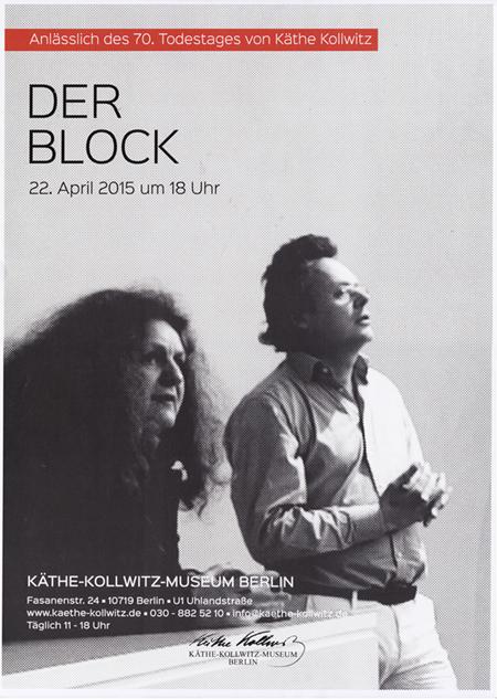 Plakat Kollwitzmuseum 2b
